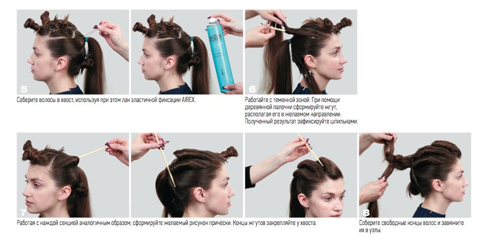 Как сделать причёску с жгутом