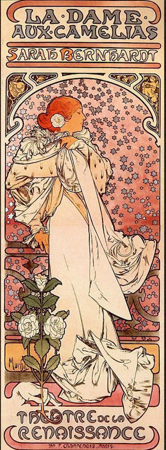 a comparison of graphic posters by alphonse muchas lorenzaccio and henri toulouse lautrecs jardin de Art nouveau posters 4 estaciones de alphonse mucha estas obra se emplearon al principio en paneles decorativos alfons_mucha-lorenzaccio.